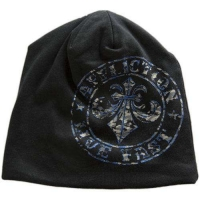 American Fighter Affliction Beanie Cooper Schwarz/grau/blau Mützen Hüte & Mützen Hüte & Mützen