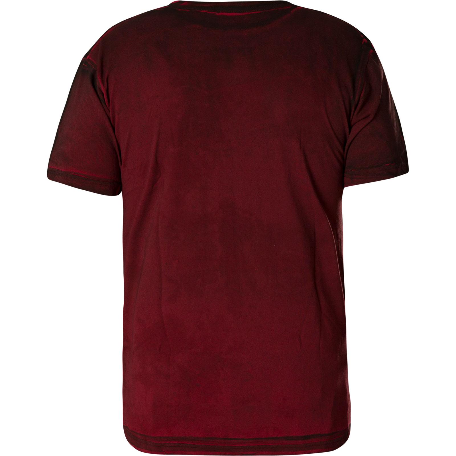 AFFLICTION T-Shirt Crusher Rot T-Shirts