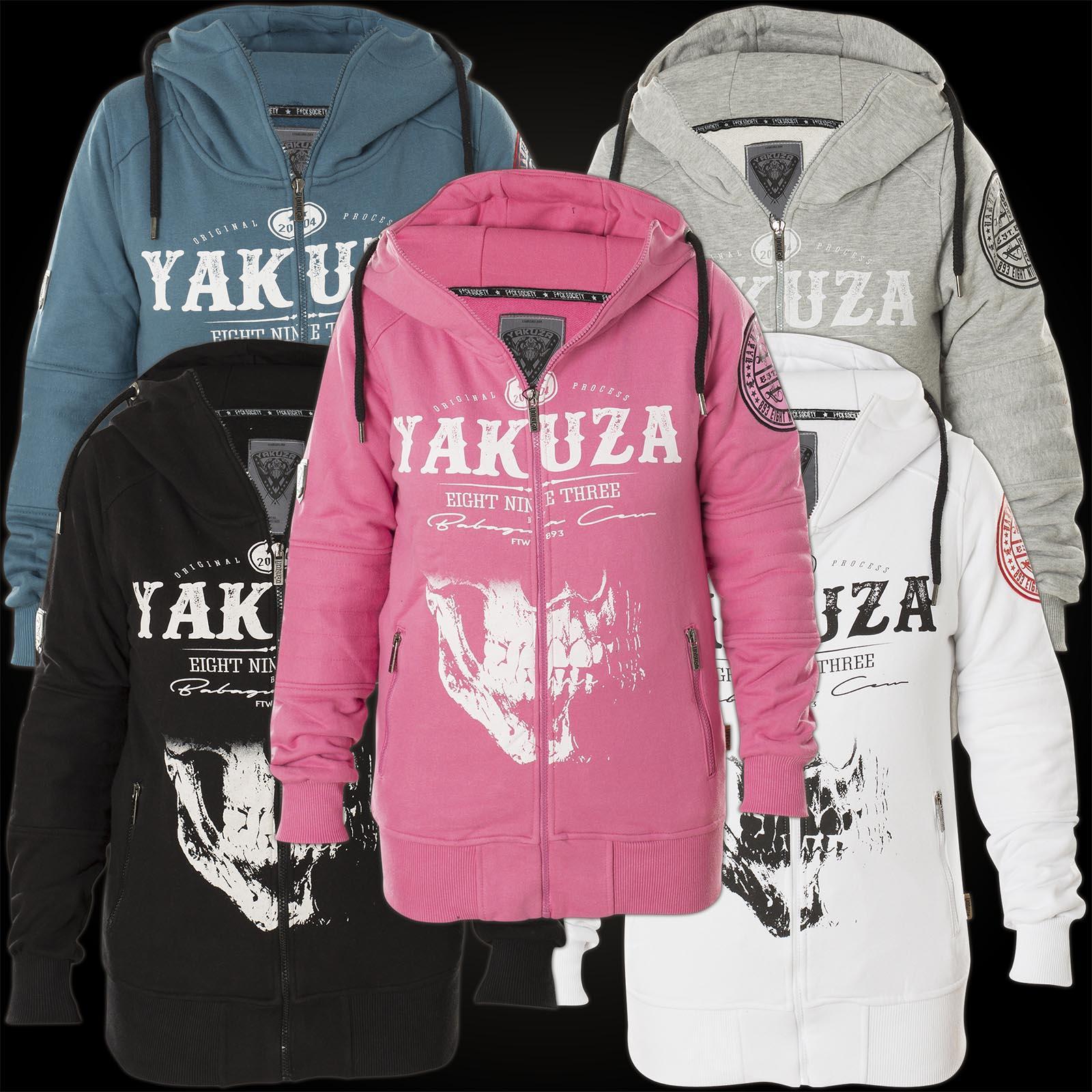 Yakuza damen jacke schwarz