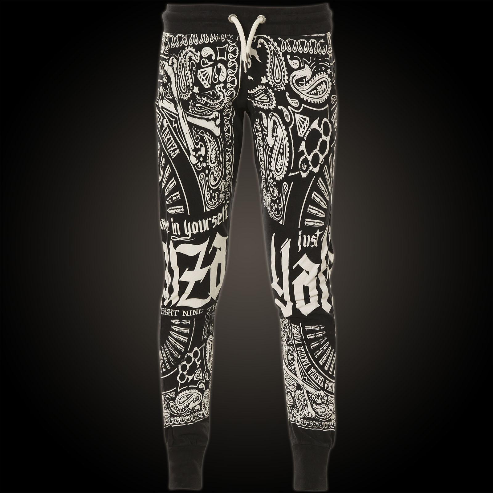 Yakuza Damen Jogginghose Believe Skinny Jogger GJOB 10135 Black Schwarz