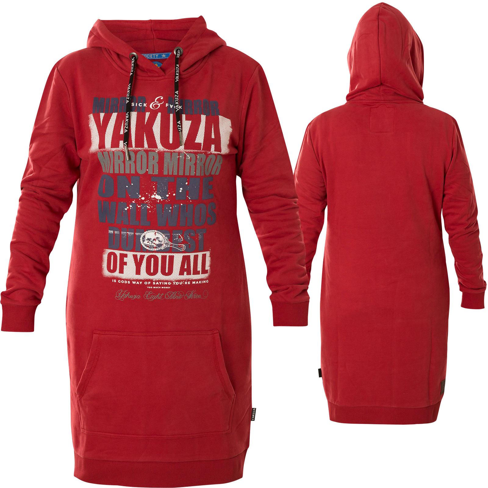 YAKUZA Kleid Tribes Dress GKB-9131 Ebony Dunkelgrau Kleider