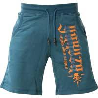 YAKUZA Shorts 893Starlet Sweat GSSB-16150 Aruba Blue Hellblau Damen