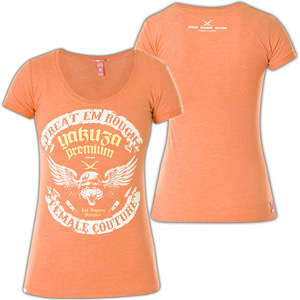 Yakuza Premium Damen T-Shirt GS-2043 Orange