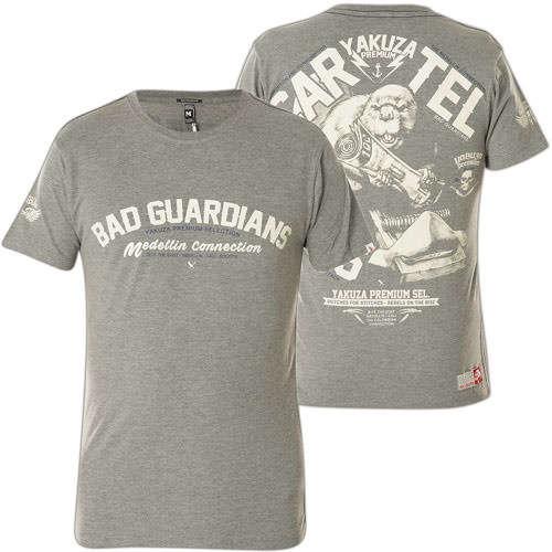 Yakuza Premium T-Shirt YPS-2219 Grau