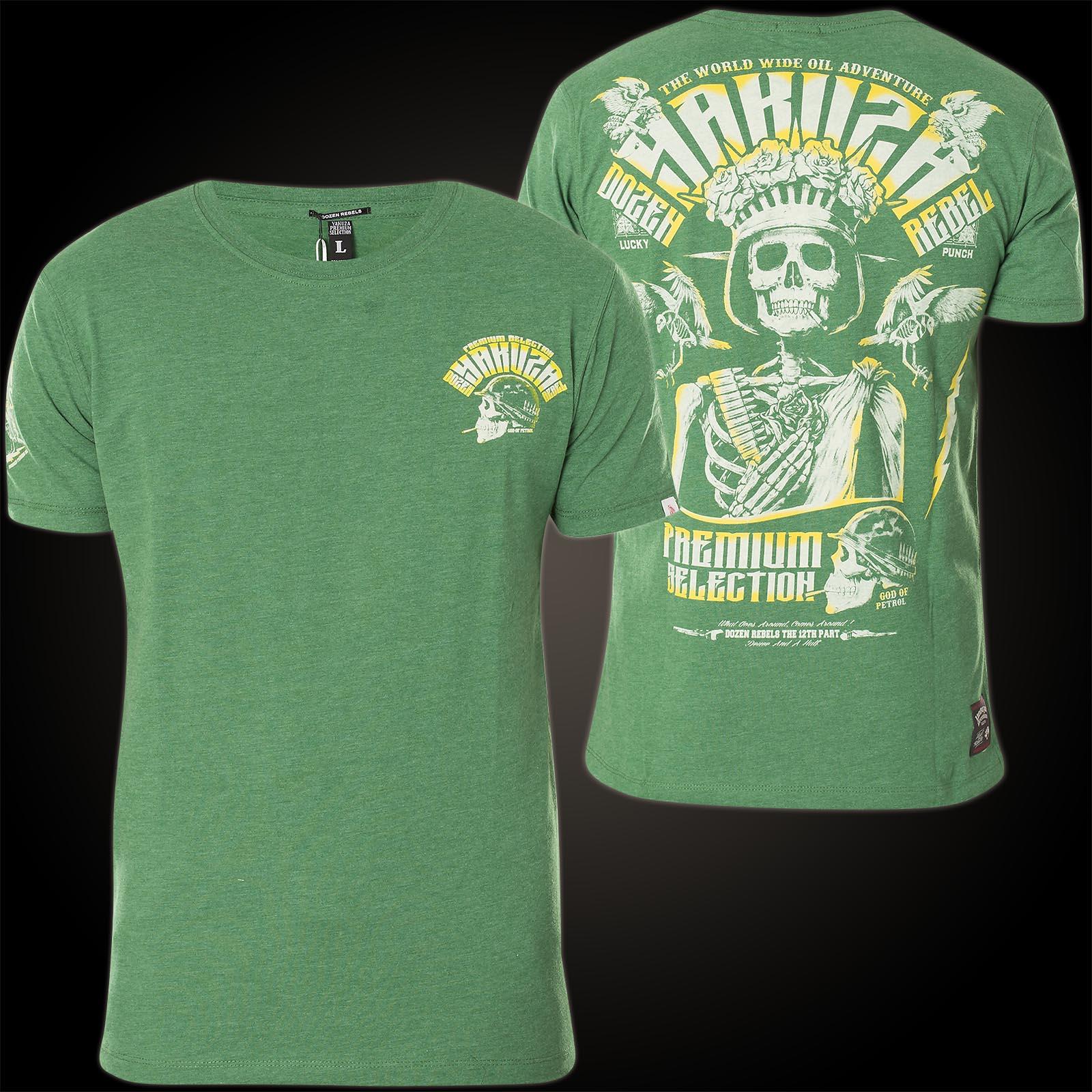 238e494de5d T-shirts Yakuza Premium T-Shirt 2414 schwarz