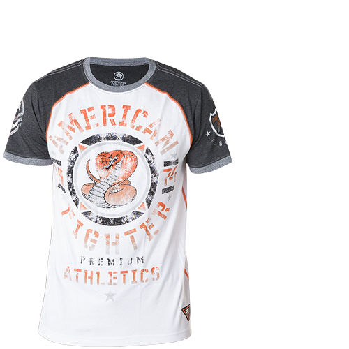 American Fighter By Affliction Connecticut Print Mit