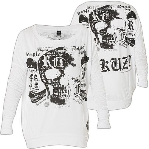 yakuza pullover glsb 11137 print eines skulls mit schriftz gen. Black Bedroom Furniture Sets. Home Design Ideas