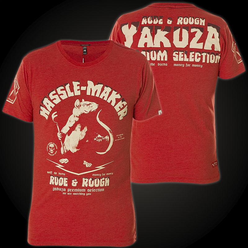 Yakuza Premium T-Shirt YPS-2104 Rot ...